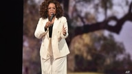 "Oprah Winfrey makes opening remarks during ""Oprah's 2020 Vision"" tour at the Forum on Saturday, Feb. 29, 2020, in Inglewood,…"