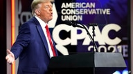 Former President Donald Trump speaks at the Conservative Political Action Conference (CPAC), Sunday, Feb. 28, 2021, in Orlando,…