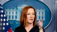 White House press secretary Jen Psaki calls on a reporter during a press briefing at the White House, Thursday, March 4, 2021,…