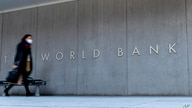 The World Bank building, Monday, April 5, 2021, in Washington. The International Monetary Fund and the World Bank open their…