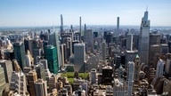 A view of uptown Manhattan from the Empire State Building is seen in New York City on Tuesday, May 18, 2021. (AP Photo/Ted…