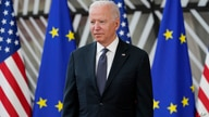 FILE - In this June 15, 2021, file photo President Joe Biden arrives for the United States-European Union Summit at the…