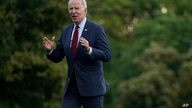 President Joe Biden arrives on the South Lawn of the White House after traveling to North Carolina, Thursday, June 24, 2021, in…