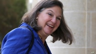 U.S. Assistant Secretary of State for European Affairs Victoria Nuland arrives for a meeting with Cypriot President Nicos…