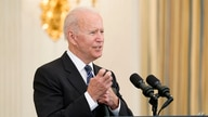 President Joe Biden speaks during an event in the State Dining room of the White House in Washington, Wednesday, June 23, 2021,…