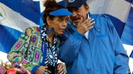 FILE - In this Sept. 5, 2018 file photo, Nicaragua's President Daniel Ortega and his wife and Vice President Rosario Murillo,…