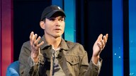 Actor and venture capitalist Ashton Kutcher discusses the future of 5G at a media event hosted by AT&T, Wednesday, July 14,…