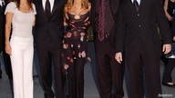 FILE PHOTO: FRIENDS CAST ARRIVES AT THE NBC 75TH ANNIVERSARY PARTY.