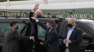 U.S. President Joe Biden arrives in Wilmington, Delaware