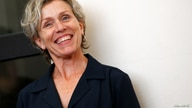 "FILE PHOTO: Cast member Frances McDormand poses during a photocall for the TV mini-series ""Olive Kitteridge"" at the 71st Venice Film Festival"