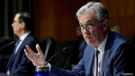 FILE PHOTO: Federal Reserve Chair Jerome Powell testifies before the Senate Banking Committee in Washington
