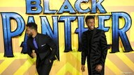 FILE PHOTO: Actor Chadwick Boseman and Director Ryan Coogler arrive at the premiere of the new Marvel superhero film 'Black Panther' in London