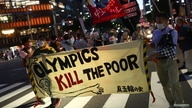 Protest against IOC President Bach in Tokyo