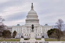The west face of the United States Capitol Building is seen in this general view. Monday, March 11, 2019, in Washington D.C. …
