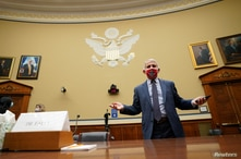 Dr. Anthony Fauci, director of the National Institute for Allergy and Infectious Diseases, arrives to testify before the House…