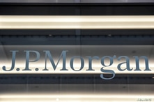 FILE PHOTO: A J.P. Morgan logo is seen in New York City, U.S., January 10, 2017. REUTERS/Stephanie Keith/File Photo