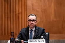 Brandon Wales, Acting Director Cybersecurity and Information Security Agency at U.S. Department of Homeland Security speaks…
