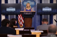 White House Press Secretary McEnany holds a press briefing at the White House in Washington, U.S.