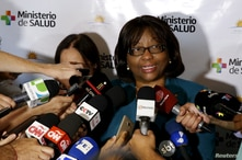FILE PHOTO: Director of the Pan American Health Organization Etienne, makes declarations to the media during a meeting of Public Health ministers of the Mercosur trade block to discuss policies to deal with the Zika virus, in Montevideo