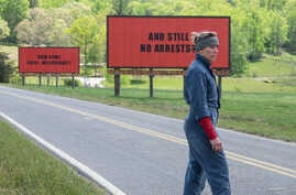 "Frances McDormand en una escena de ""Three Billboards Outside Ebbing, Missouri.''"