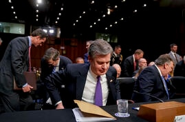 El director del FBI Christopher Wray