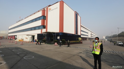 The Cargo Terminal 2 of the Indira Gandhi International Airport, which according to the officials will be used as a COVID-19…