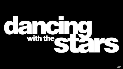 Dancing with the Stars logo, graphic element on black