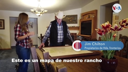 Jim y Sue Chilton: Freno al muro en la hacienda de los Chilton