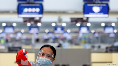 Ninoy Aquino International Airport amid the coronavirus outbreak