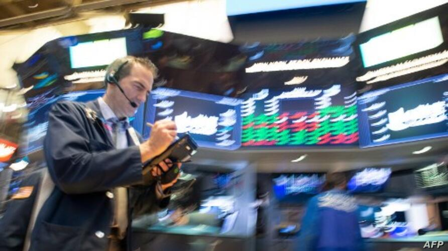 Dow Industrial Average at the New York Stock Exchange