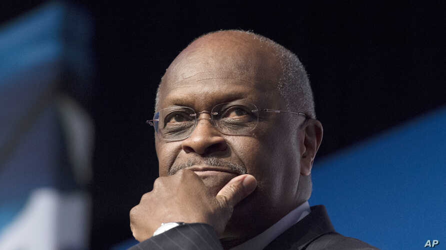 Herman Cain durante el evento Faith and Freedom Coalition's Road to Majority, en Washington, el 20 de junio de 2014.
