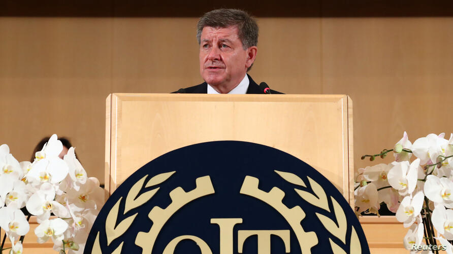 Archivo - Guy Ryder, director general de la Organización Internacional del Trabajo.