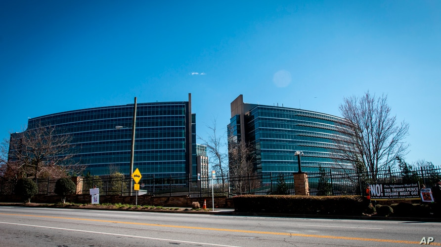 The headquarters for Centers for Disease Control and Prevention is shown on Friday, March 6, 2020 in Atlanta, Georgia…