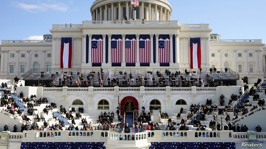U.S. President Joe Biden speaks during the 59th Presidential Inauguration at the U.S. Capitol in Washington January 20, 2021…