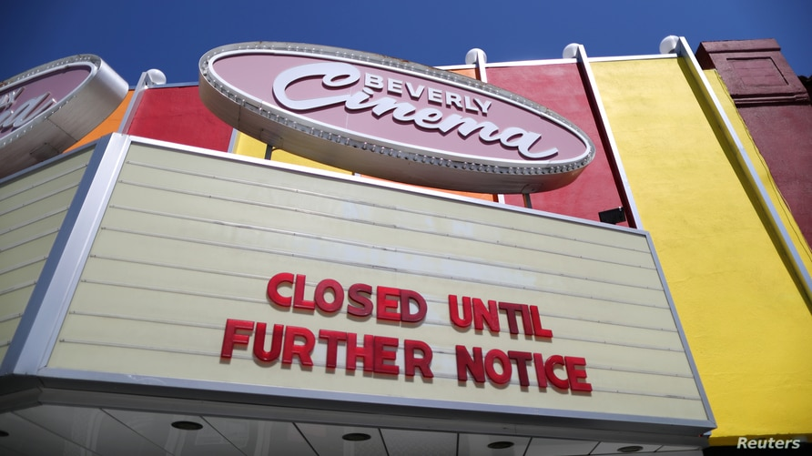 The New Beverly Cinema is closed as the global outbreak of the coronavirus disease (COVID-19) continues, in Los Angeles,…