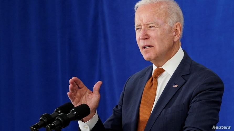 U.S. President Joe Biden delivers remarks on the May jobs report after U.S. employers boosted hiring amid the easing…