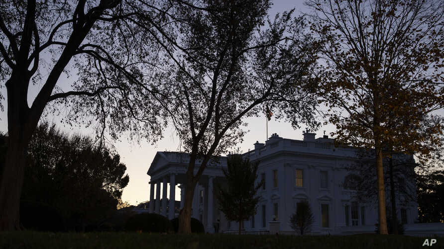 The sun rises over the White House, Wednesday, Nov. 13, 2019, in Washington. The Washington version of must-see TV makes its…