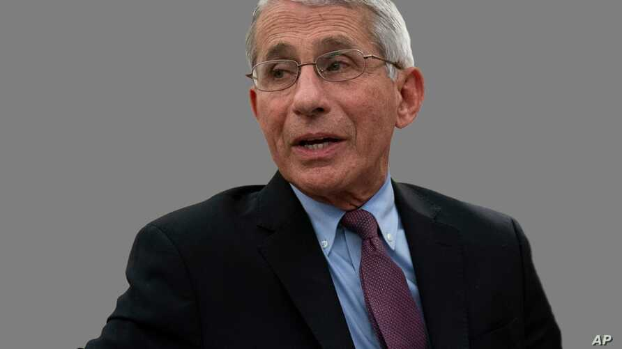 Anthony Fauci, as US National Institute of Allergy and Infectious Diseases director, speaks about the novel coronavirus in the…