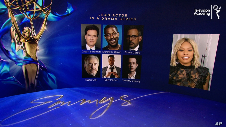 IMAGE DISTRIBUTED FOR THE TELEVISION ACADEMY - Laverne Cox announces this year's Emmy nominees for Outstanding Lead Actor in a…