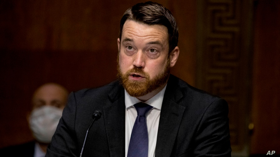 US AID Joshua Hodges, Senior Deputy Assistant Administrator for Latin America speaks during a Senate Foreign Relations…