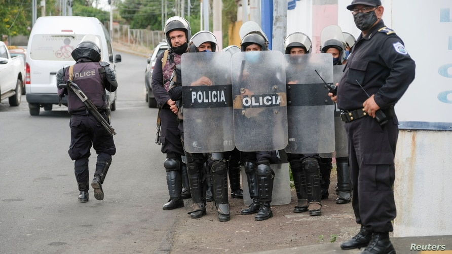 FILE PHOTO: Nicaragua Attorney General of the Republic office summons opposition candidate Felix Maradiaga, in Managua