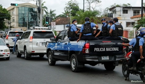 Nicaragua Attorney General of the Republic office summons opposition candidate Felix Maradiaga, in Managua
