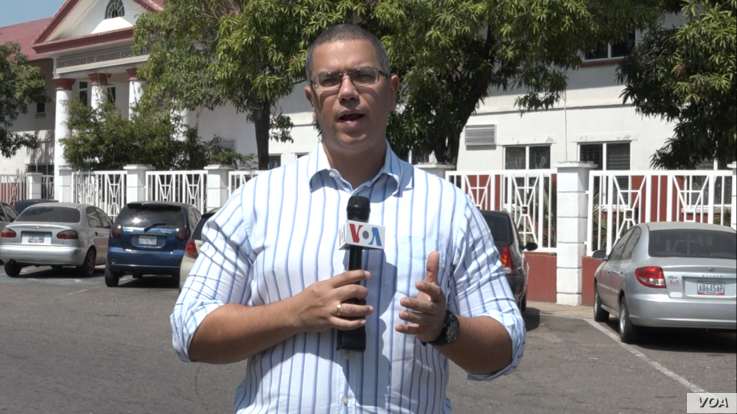 Gustavo Ocando Alex, Venezuelan journalist for the Voice of America, who worked from Maracaibo sometimes without electricity or gasoline.