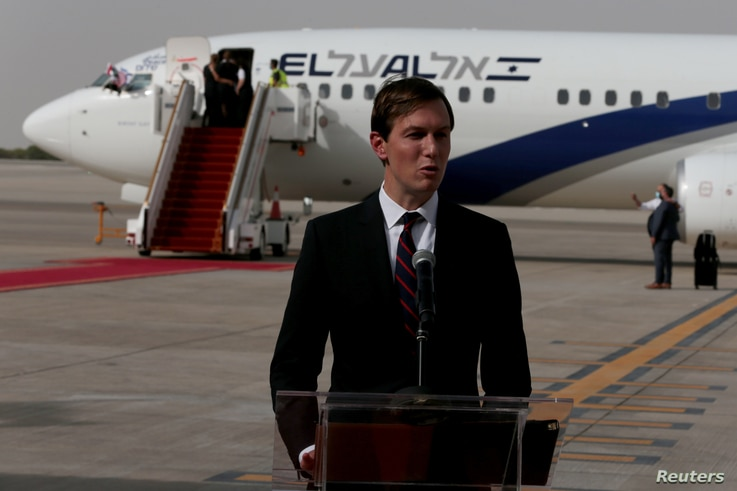 Israeli, U.S. officials on historic flight to UAE to formalise normalisation deal